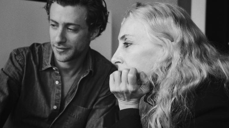 Franca Sozzani and Francesco Carrozzini
